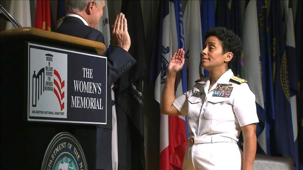 VIDEO: Meet the Woman Who Just Broke the Navys Glass Ceiling
