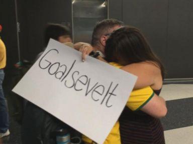 VIDEO: Teddy Goalsevelt Returns from Brazil