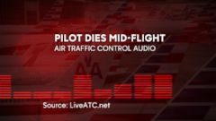 VIDEO: Air traffic control audio captured communications as an American Airlines flight from Boston to Phoenix was diverted when the pilot experienced a medical emergency.