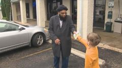 VIDEO: Jack Swanson, 7, gave $20 to the Islamic Center of Pflugerville in Texas after it was vandalized in the wake of the Paris attacks.