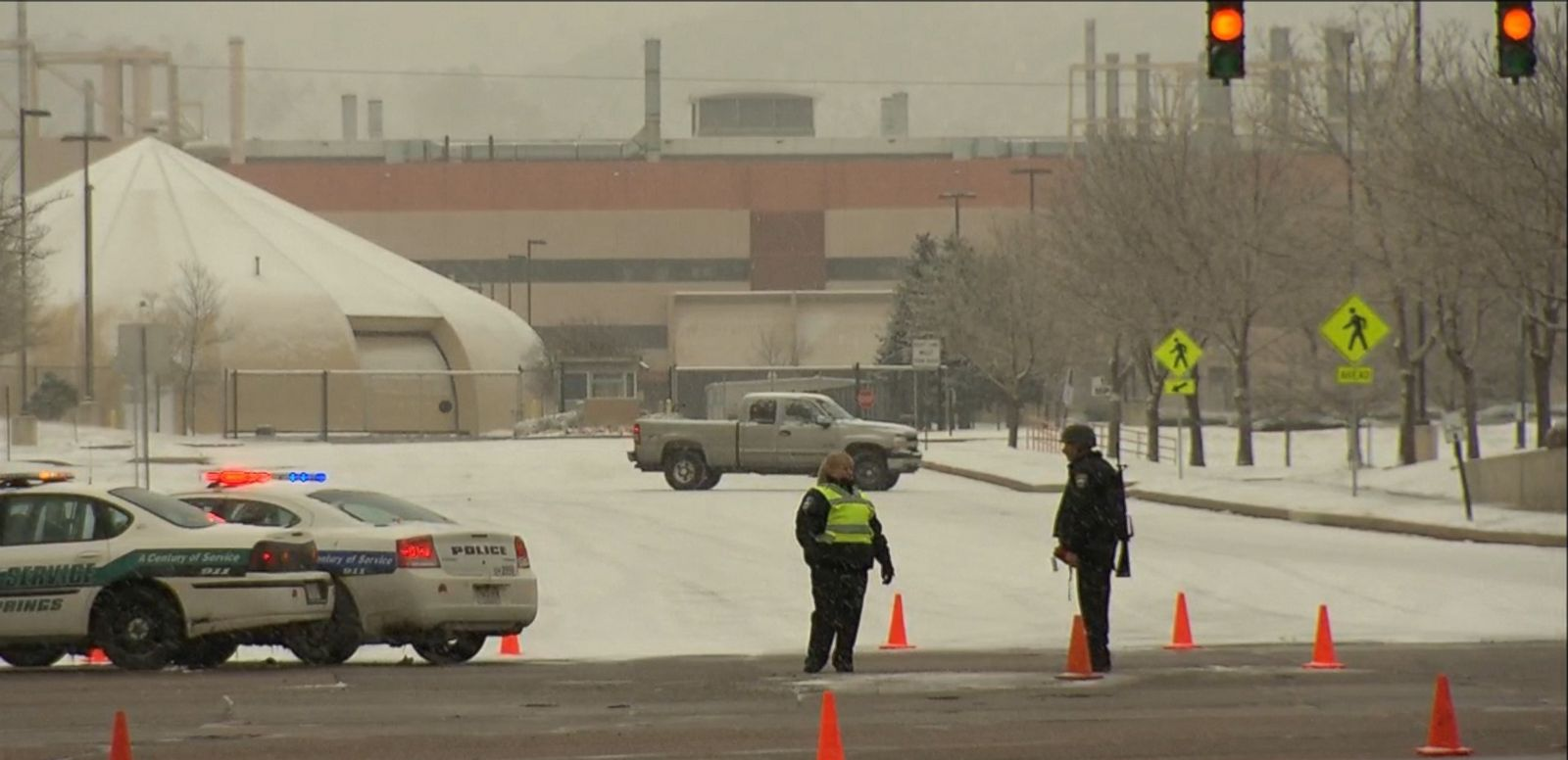 VIDEO: Three officers were shot amid an active shooter situation in Colorado Springs Friday afternoon and there may be more victims, police said.