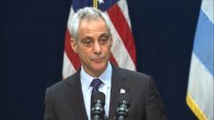 VIDEO: Mayor Rahm Emanuel says fresh eyes and new leadership are needed in the city.