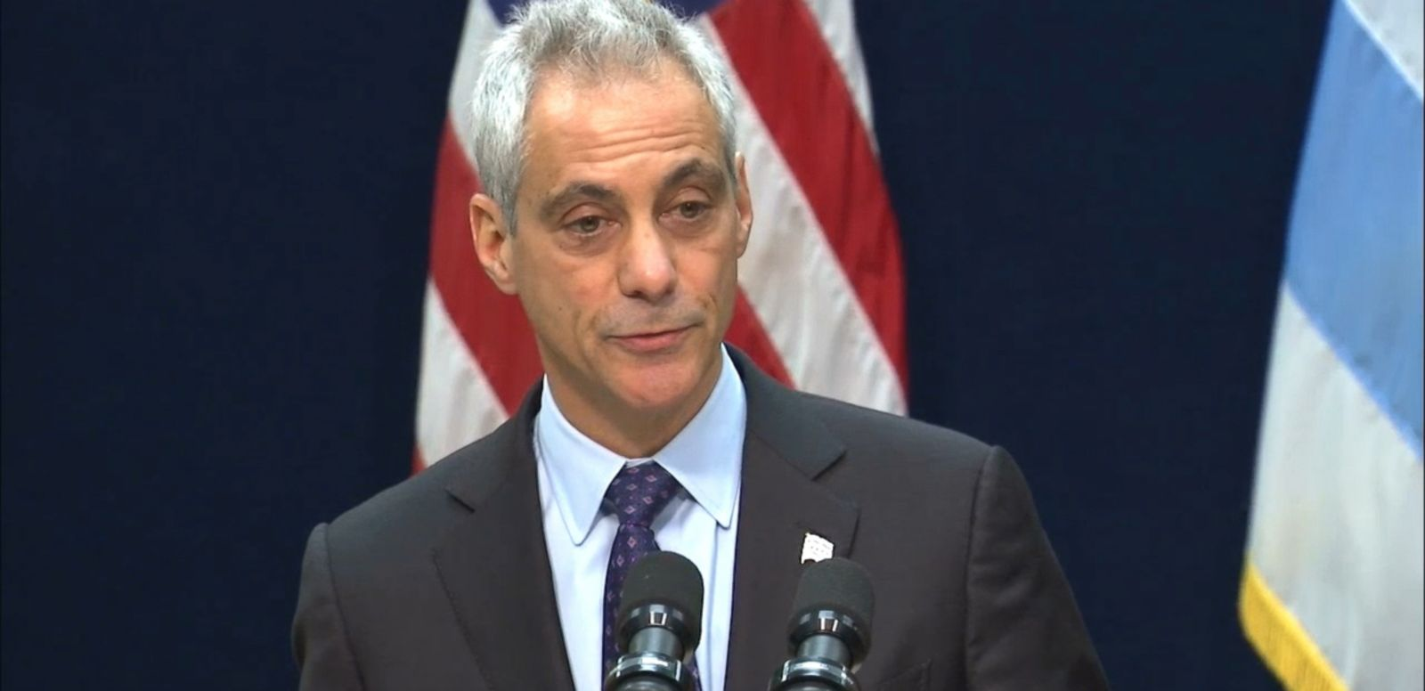 "VIDEO: Mayor Rahm Emanuel says ""fresh eyes and new leadership"" are needed in the city."
