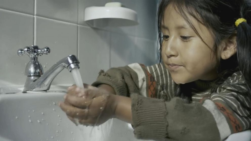 VIDEO: Colgate sends a message of water conservation in its 30-second Super Bowl commercial.