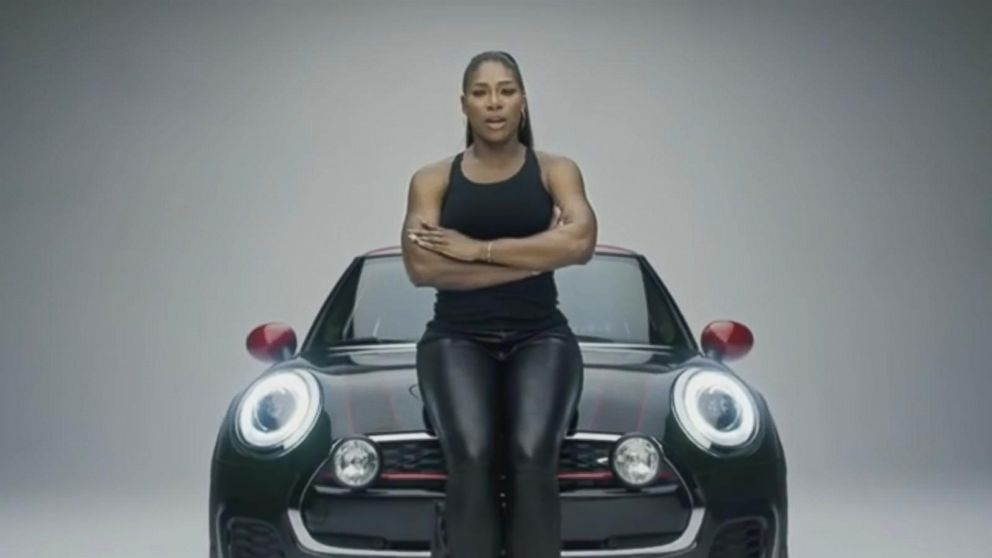 VIDEO: The car company tapped Abby Wambach, Serena Williams, Tony Hawk and others in its Super Bowl spot touting diversity.
