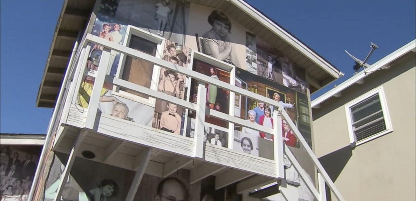 VIDEO: Artist Gary Sweeney paid homage to 70 years of family memories in the Manhattan Beach, California, home before turning it over to its new owners.