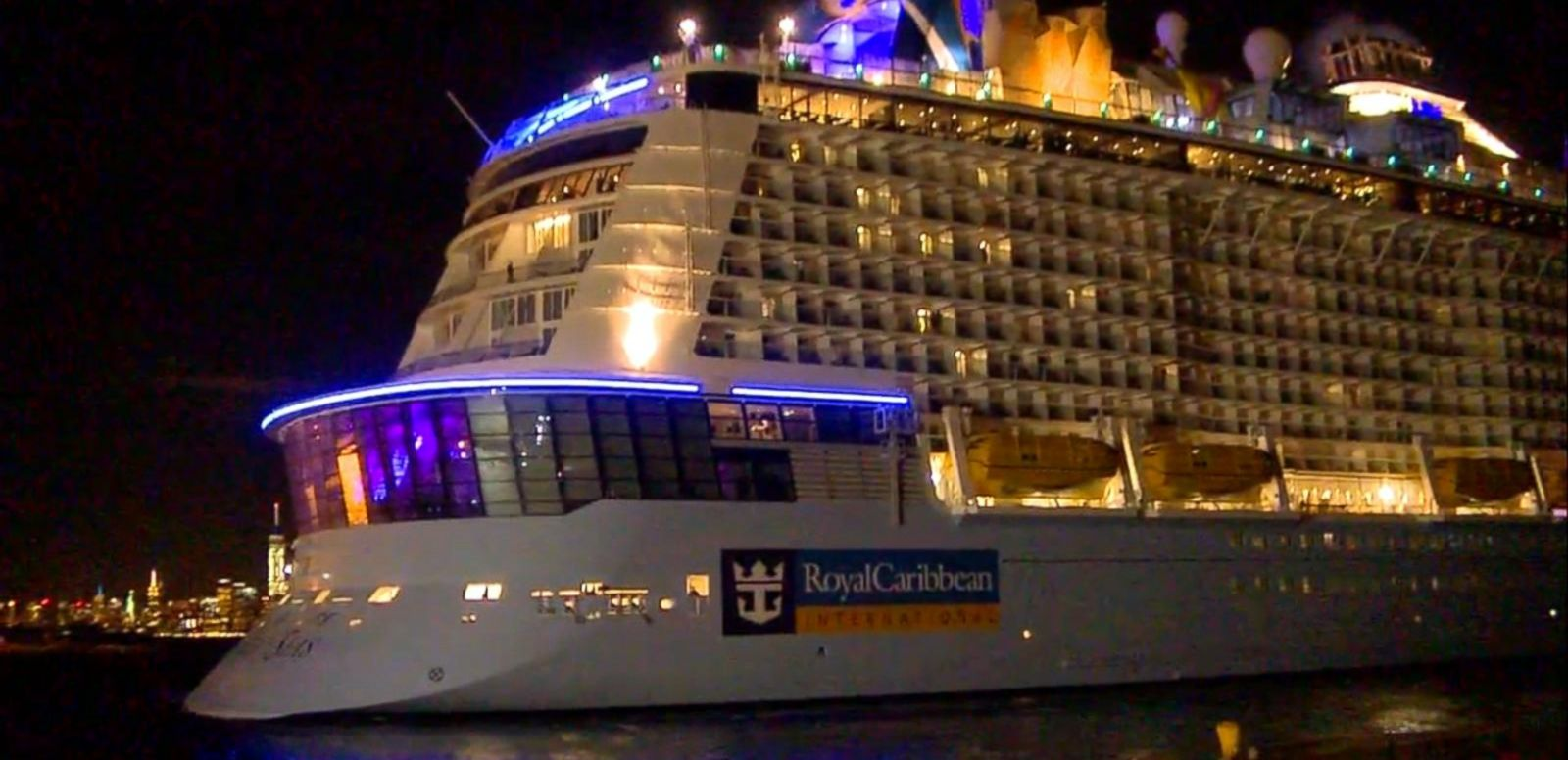 VIDEO: Cruise Ship Battered by Storm Returns to NJ