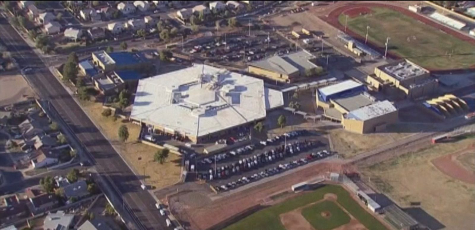 VIDEO: After a double shooting at a Glendale, Arizona, high school this morning, police said the incident was isolated and the school and neighborhood are now safe.