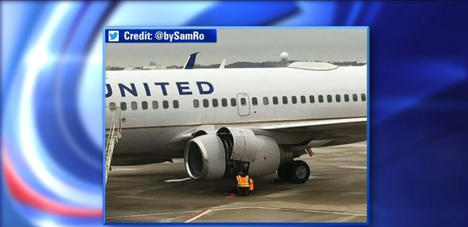 Good Morning America United Airlines : United airlines flight makes emergency landing in