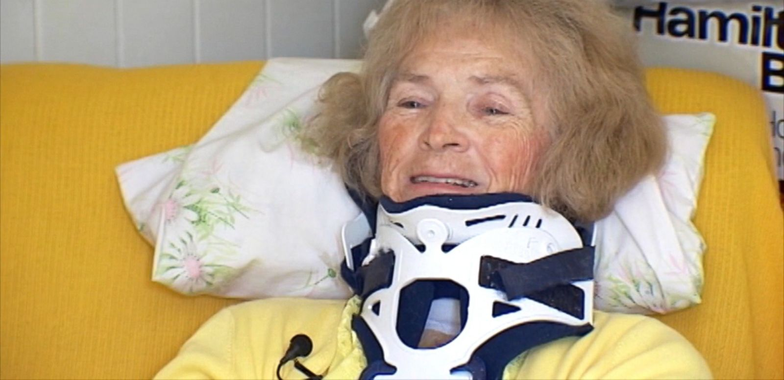 An accident in 1995 took away Mary Ann Franco's sight and a different kind of accident has apparently brought it back.