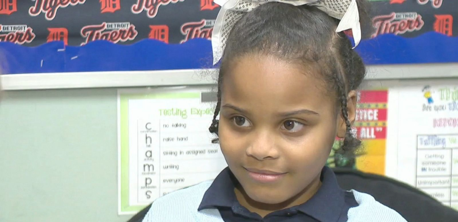 VIDEO: The 8-year-old girl who received a letter from President Obama after writing to him about Flint, Michigan, will get a chance to meet the commander-in-chief today.