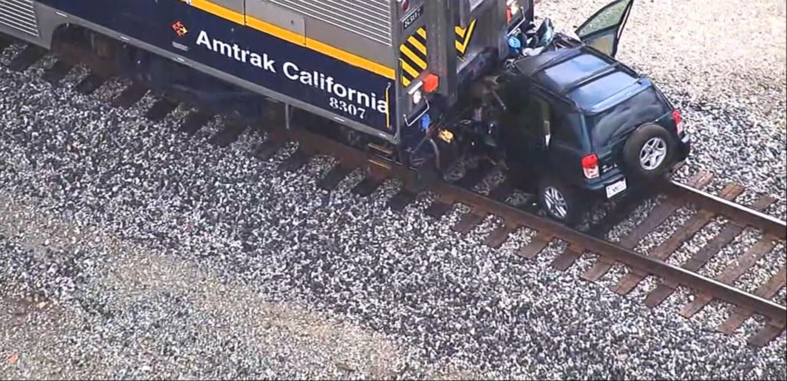 The crash was in San Leandro, on the eastern shore of the San Francisco bay.