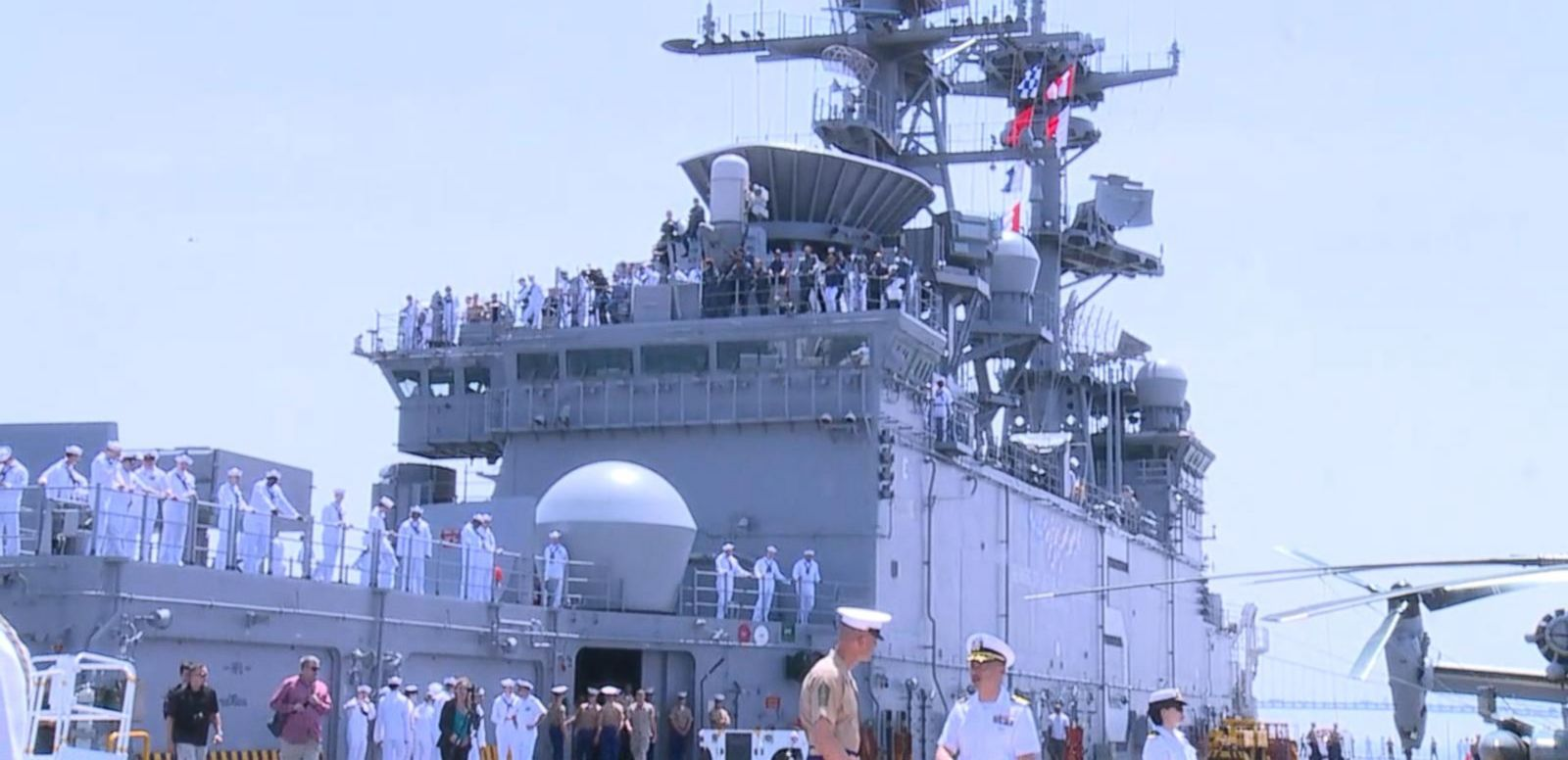 VIDEO: Sail Along as the USS Bataan Arrives in New York Harbor for Fleet Week
