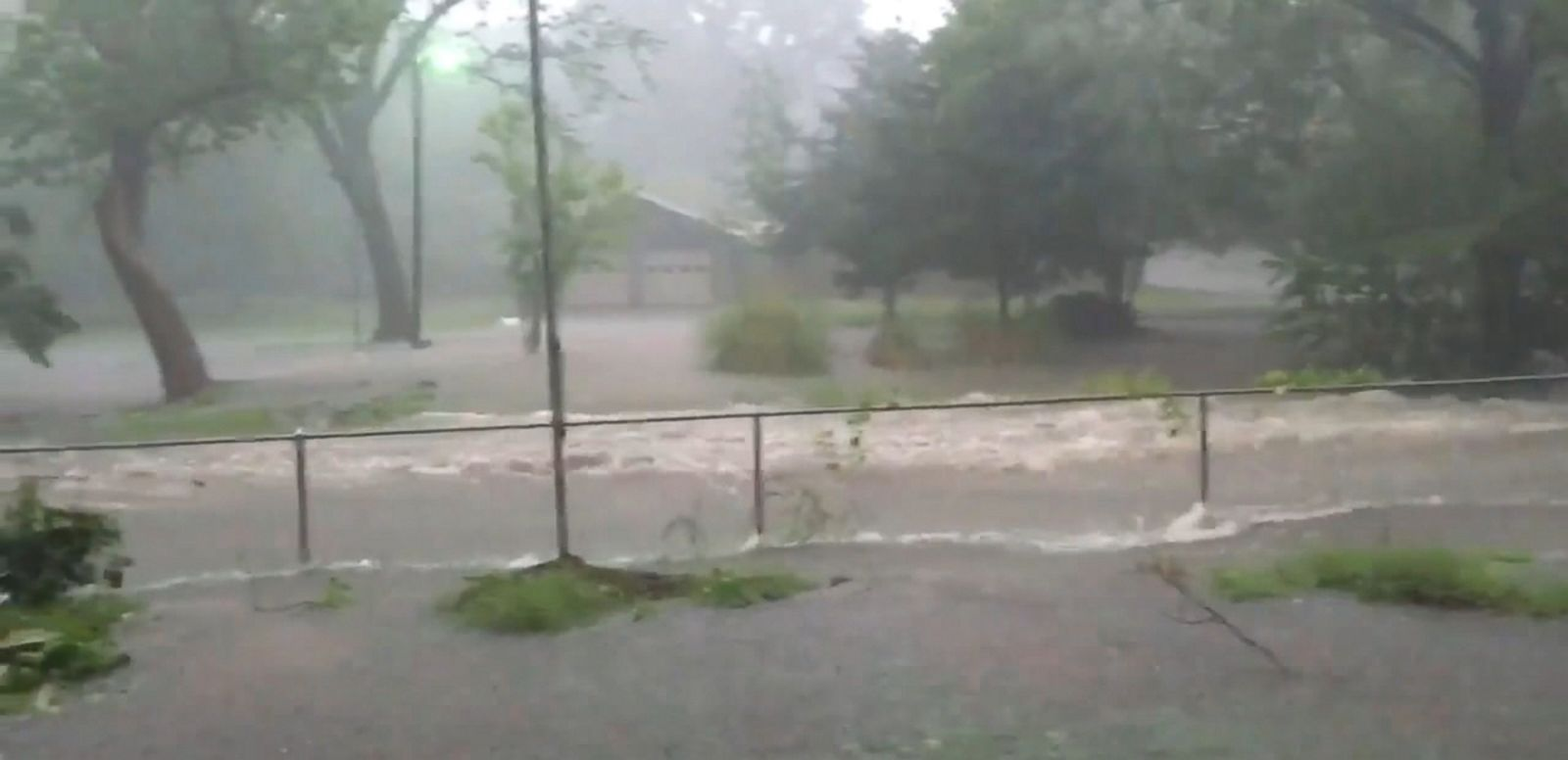 VIDEO: At least one person is dead in Southeast Texas after heavy rains and extreme flooding barreled through the area, officials said.