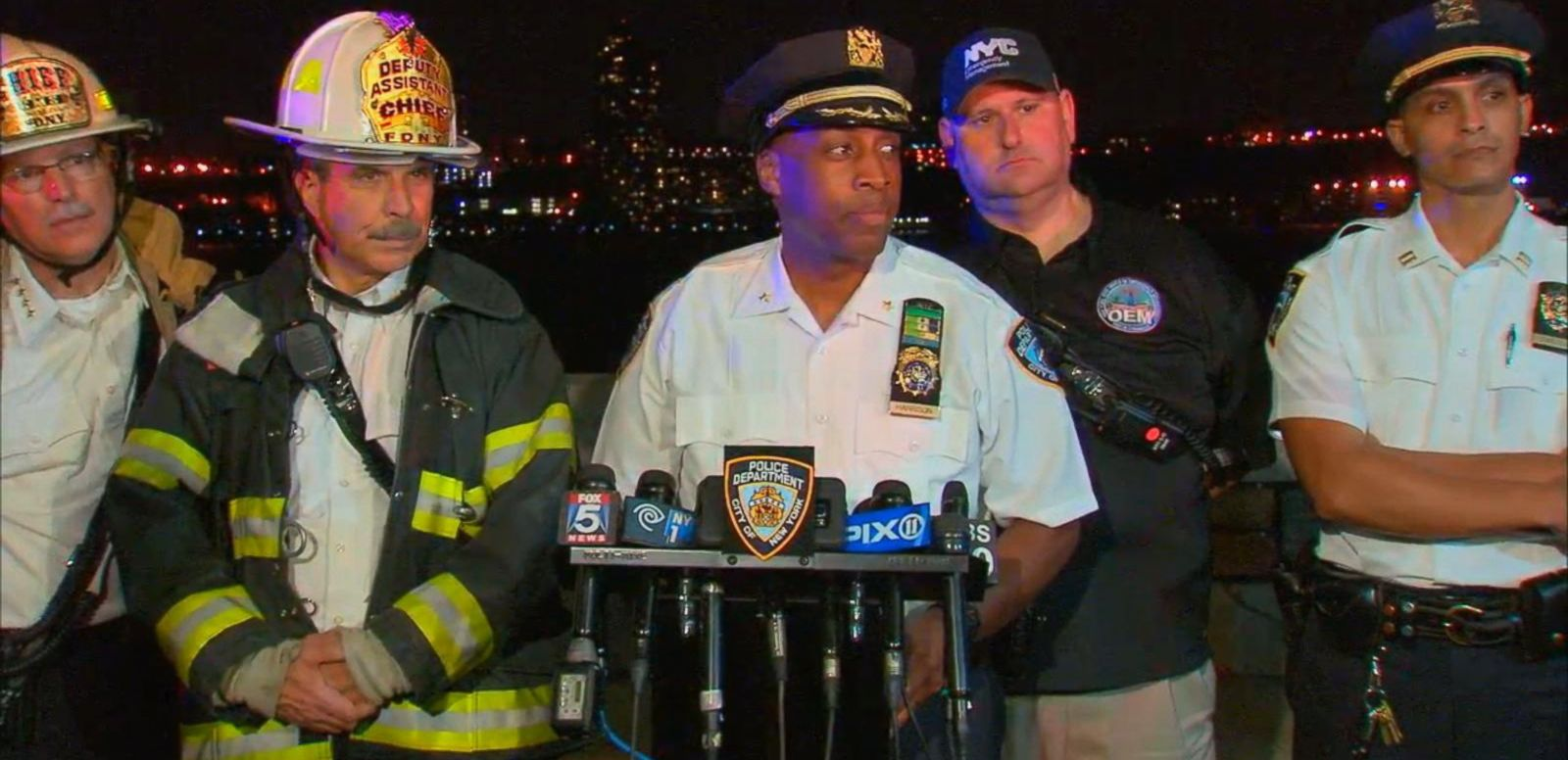 VIDEO: Officials Give Update on World War II-Era Plane Crash in the Hudson River