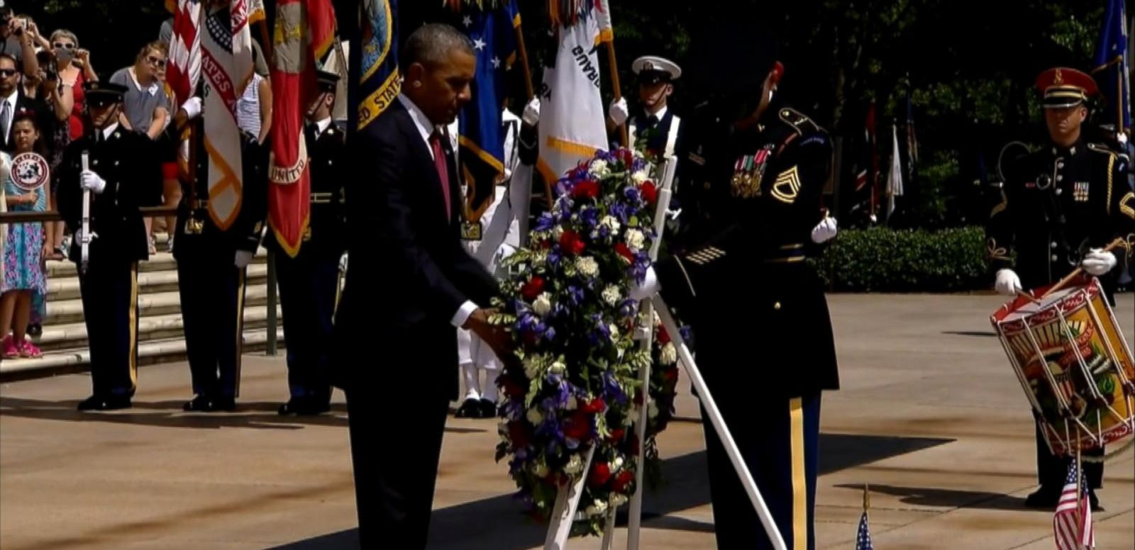 VIDEO: Obama Remembers Fallen Heroes on Memorial Day