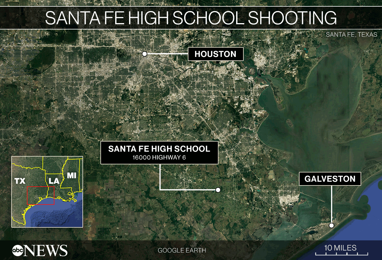 Santa Fe News >> 10 Dead 10 Wounded In Shooting At Santa Fe High School In Texas
