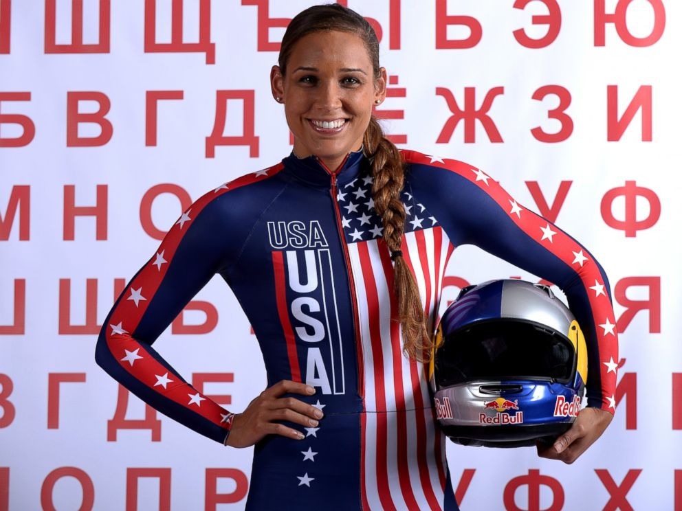 PHOTO: Bobsledder Lolo Jones poses for a portrait during the USOC Media Summit ahead of the Sochi 2014 Winter Olympics, Sept. 29, 2013, in Park City, Utah.