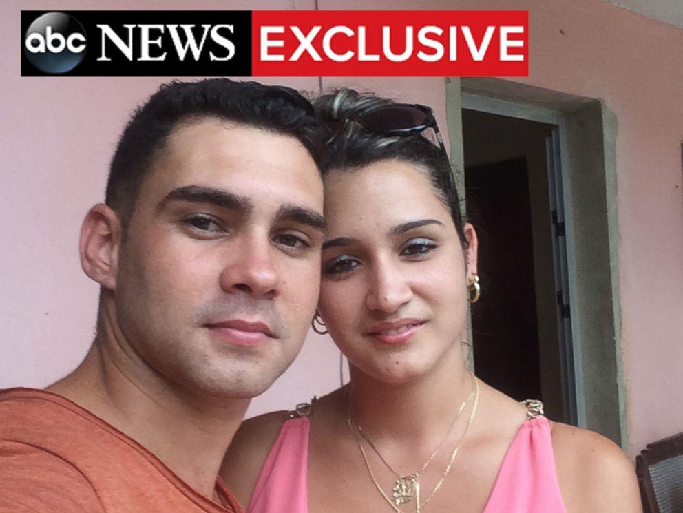 PHOTO: Elian Gonzalez poses for a selfie with his fiance Ilianet Escano.