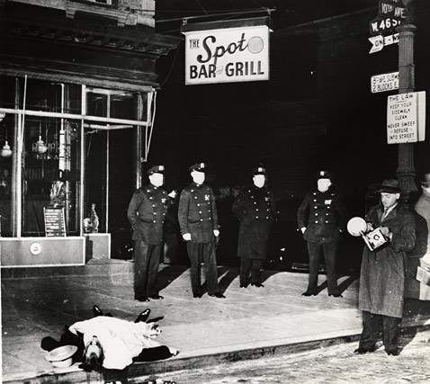 4 spot bar and grill wblog Weegee: Murder Is My Business