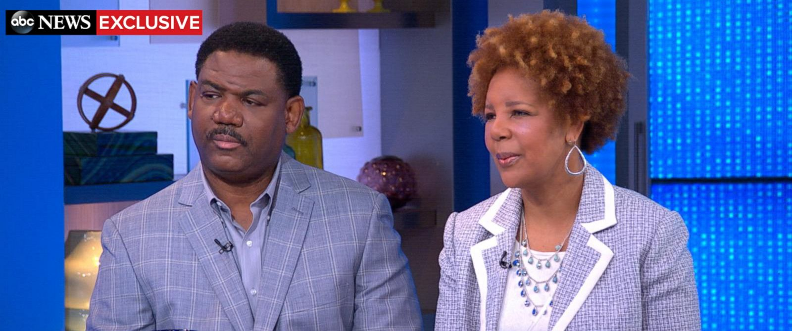 "PHOTO: Georgia residents Yvonne and Zachery Ervin appear on ""Good Morning America,"" Sept. 28, 2015."