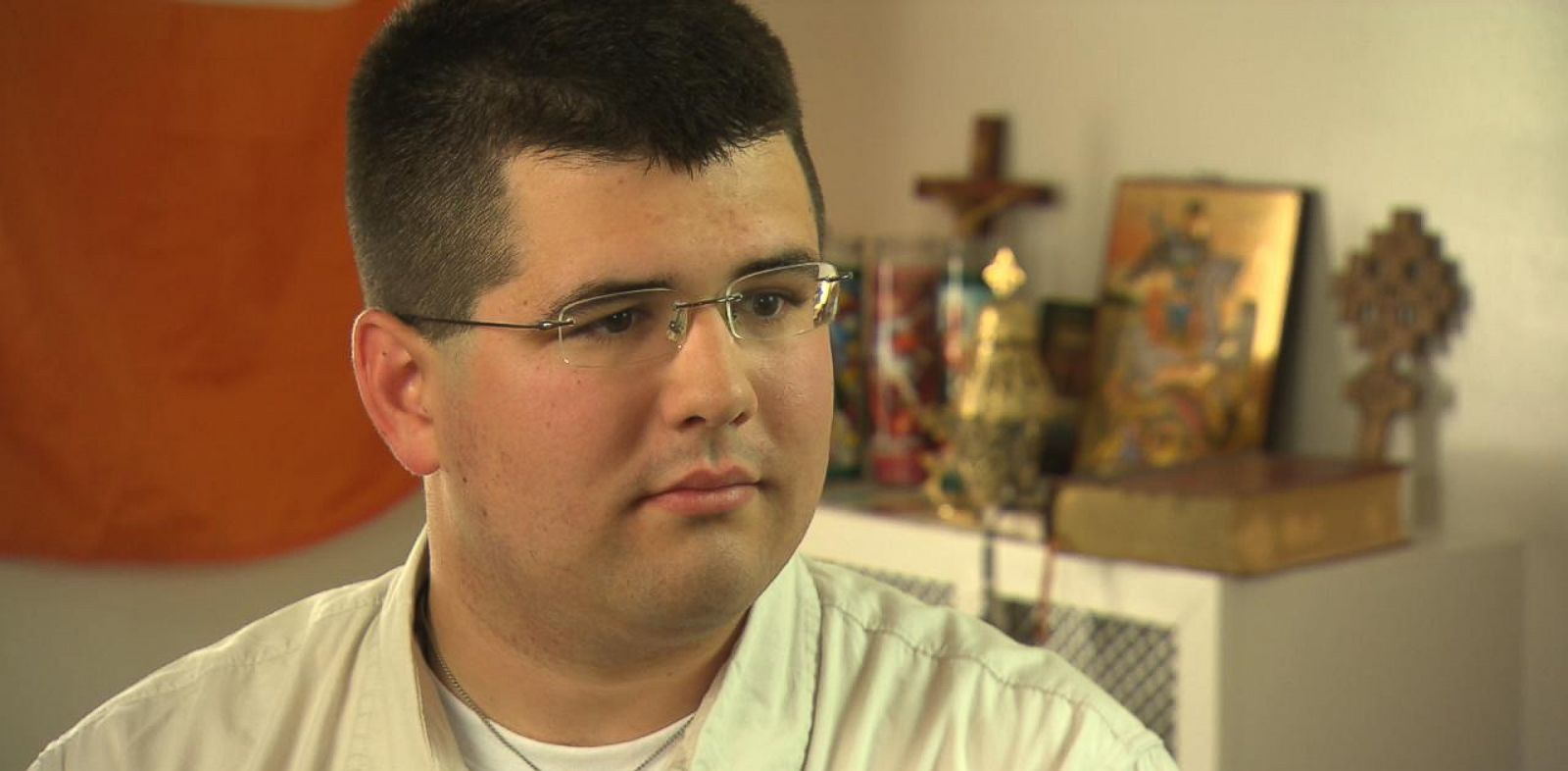 PHOTO: Matt Heimbach, 22, believes the United States should go back to a time of segregation.