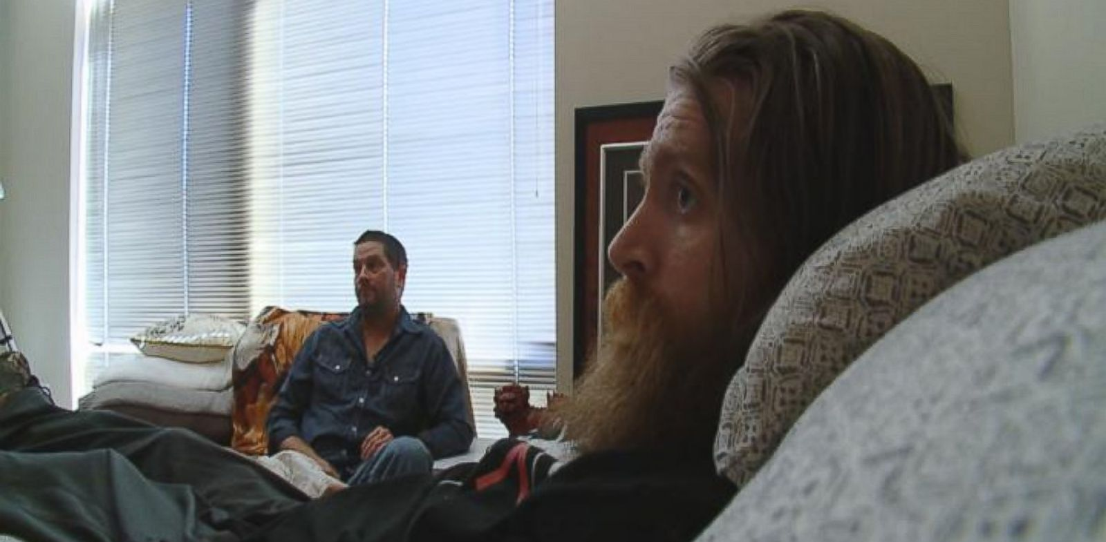 PHOTO: Tomas Young, in the foreground, was paralyzed from the chest down by a snipers bullet in 2004 in Iraq.