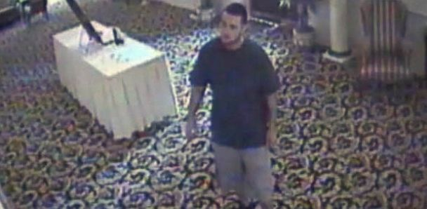 """PHOTO: A man Penn. police are calling the """"serial wedding thief"""" allegedly has been stealing gifts from weddings"""