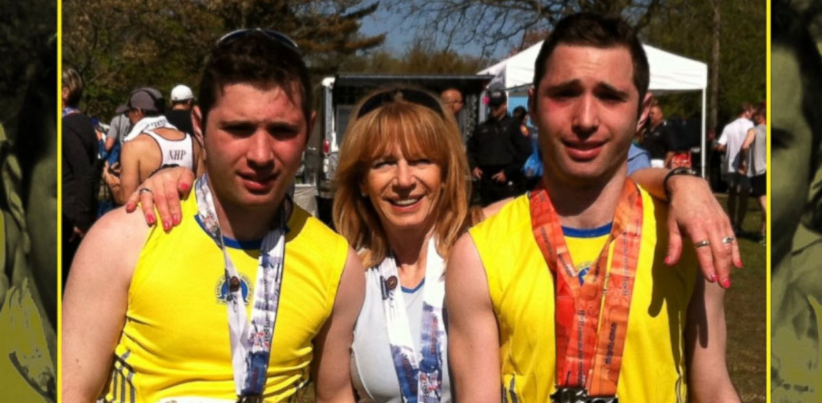 autistic twin runners make strides at 2013 new york city marathon abc news. Black Bedroom Furniture Sets. Home Design Ideas
