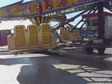 PHOTO: A teenage girl was killed Friday night when she was ejected from a spinning carnival ride at an El Paso, Texas, church on April 29, 2016.