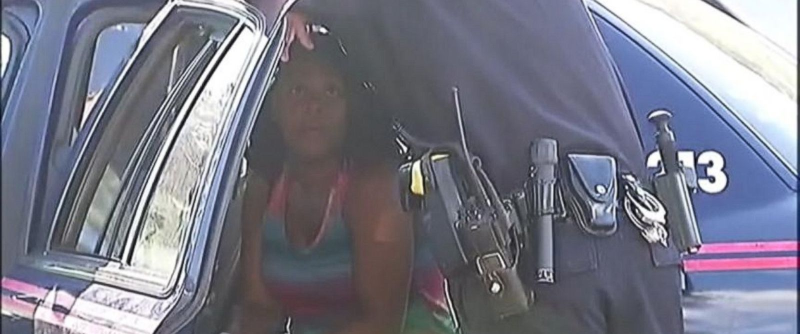 PHOTO: Charnae Mosley, 27, faces four counts of reckless conduct after leaving her four children inside of a SUV, Atlanta police confirmed.