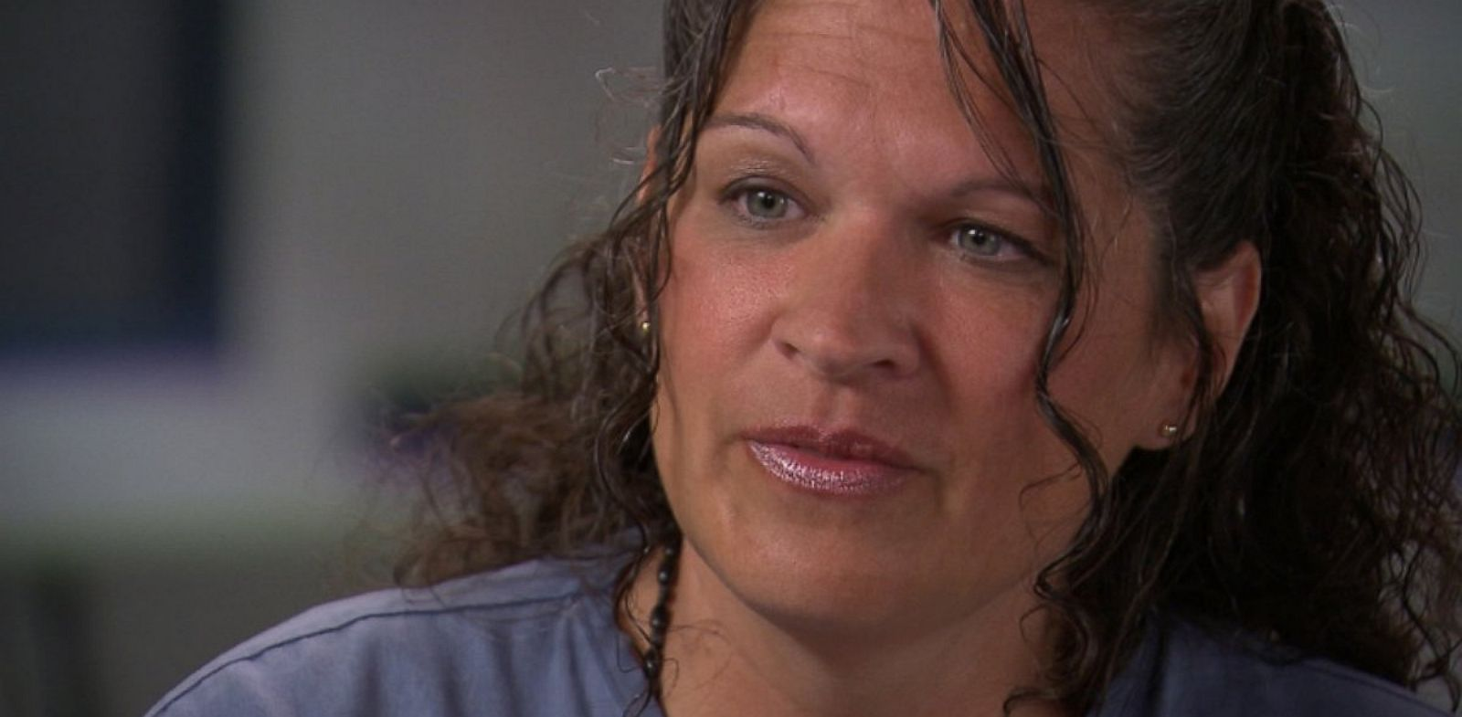 "PHOTO: In an exclusive interview with ABC News ""20/20"", Dee Dee Moore says she did not kill Abraham Shakespeare."