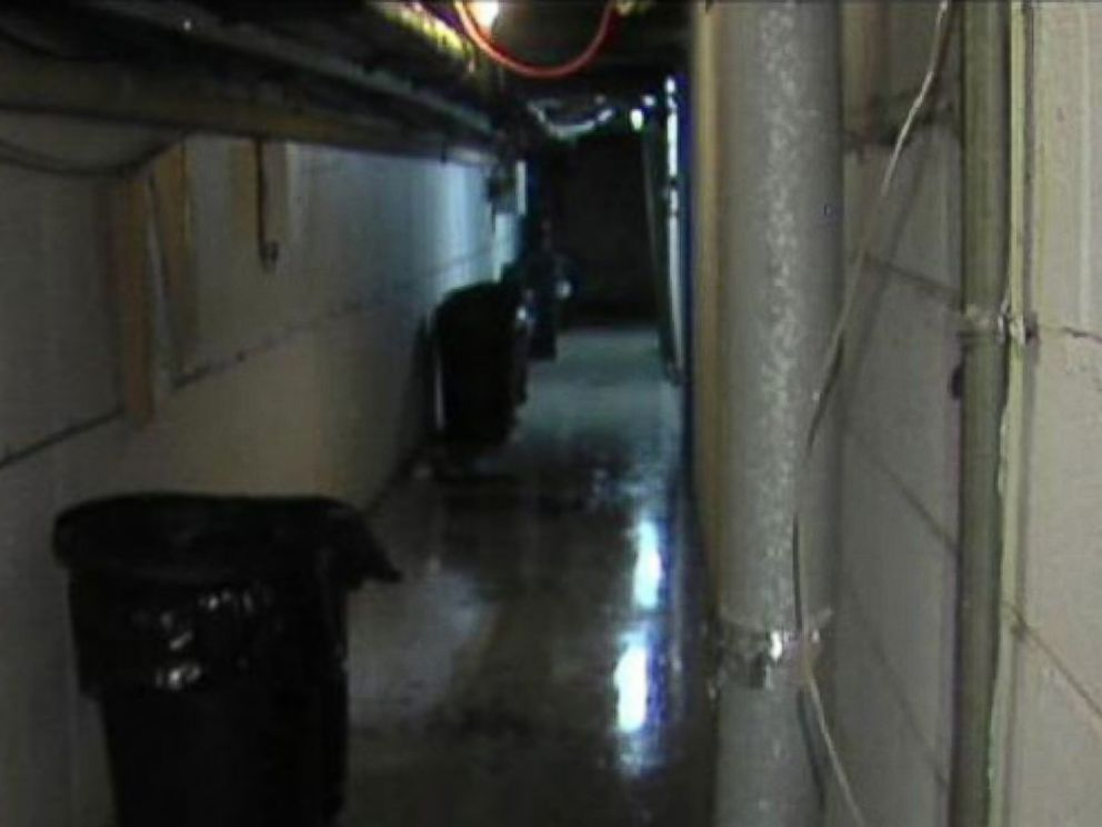 PHOTO: The basement of the apartment building in which Charlie Bothuell V was found June 26, 2014