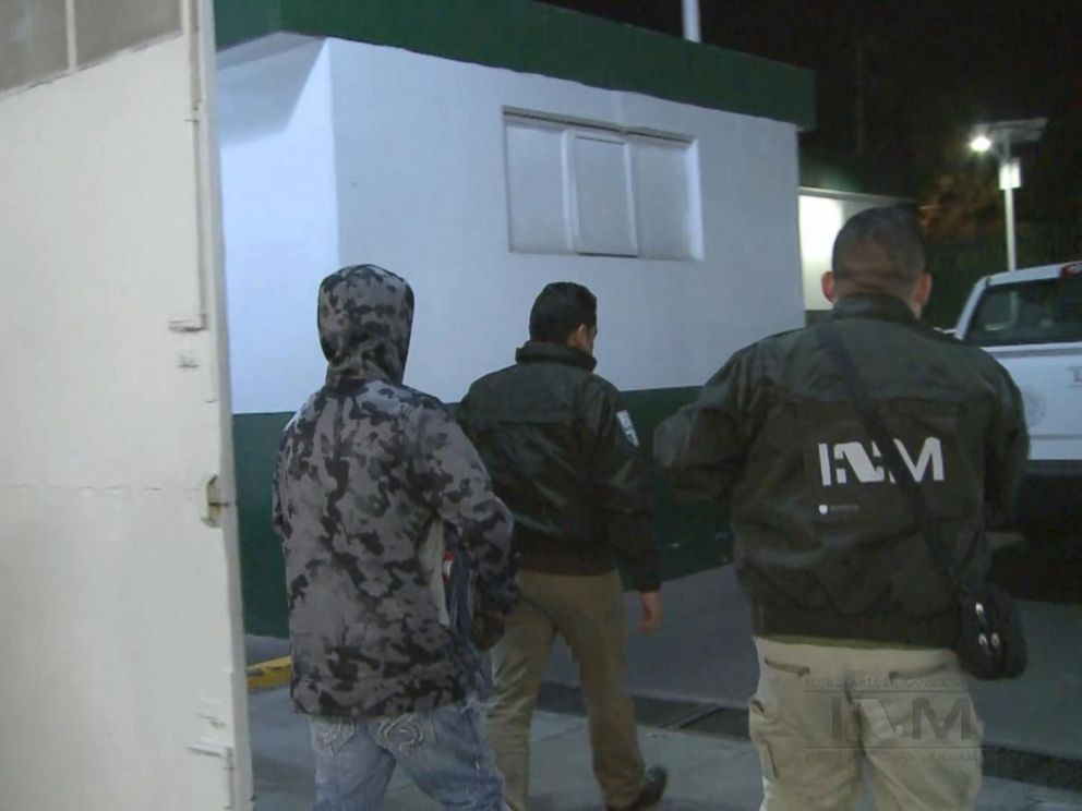 PHOTO: Ethan Couch is seen here in custody preparing to board a plane to the United States on Jan. 28, 2016