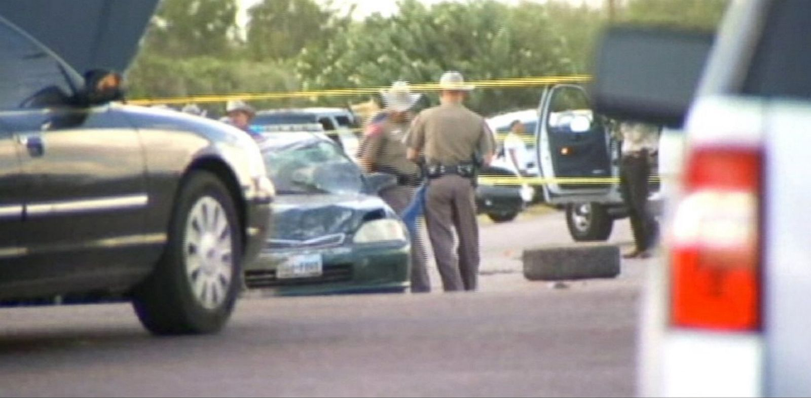 PHOTO: Six people died after high-speed car chase near Mission, Texas.