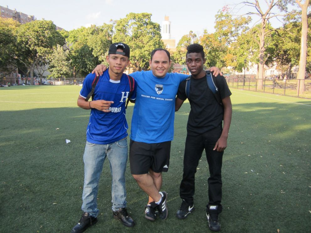Teen migrants get second chance in life and blessing from - Carlos martinez garcia ...