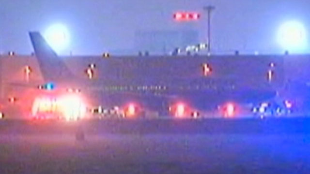 PHOTO:A United Airlines flight from Newark, N.J., to Geneva was diverted to Boston on Tuesday, Aug. 1, 2012 when a flight attendant discovered a camera in a seat back pocket.