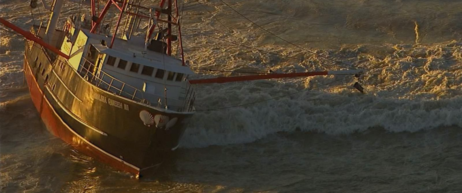 PHOTO:A 76-foot fishing boat ran aground early Thursday in Rockaway, Queens, and a coast guard ship was sent to help it but that boat (not pictured) flipped over.