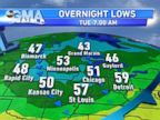 PHOTO: Cooler temperatures are expected to hit the Midwest this week.