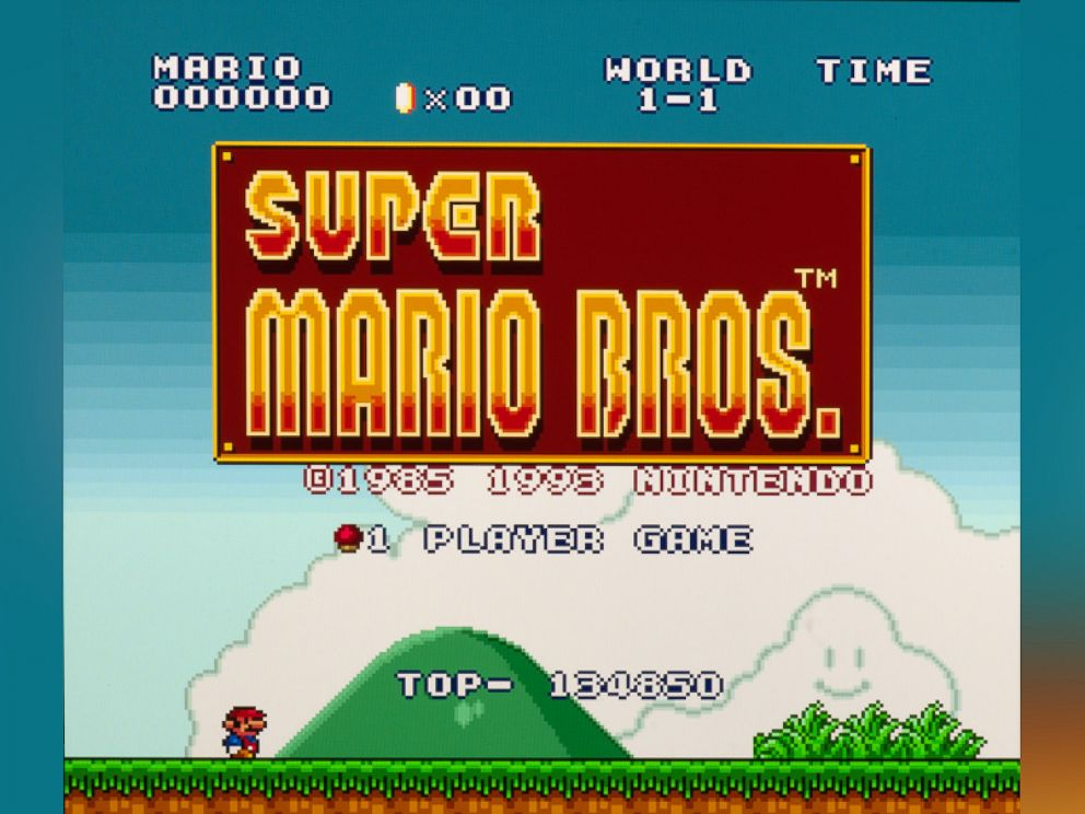 PHOTO: Super Mario Brothers the Nintendo game was released in the U.S. in 1985.