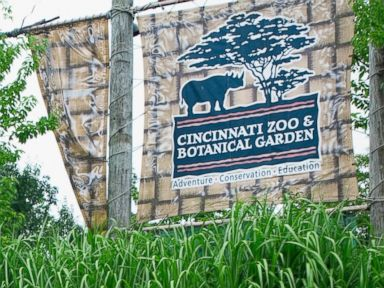 PHOTO: The entrance of the Cincinnati Zoo and Botanical Garden Cincinnati, Ohio is pictured in this undated stock photo.