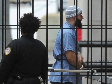 PHOTO: Adnan Syed enters Courthouse East in Baltimore prior to a hearing, Feb. 3, 2016, in Baltimore.