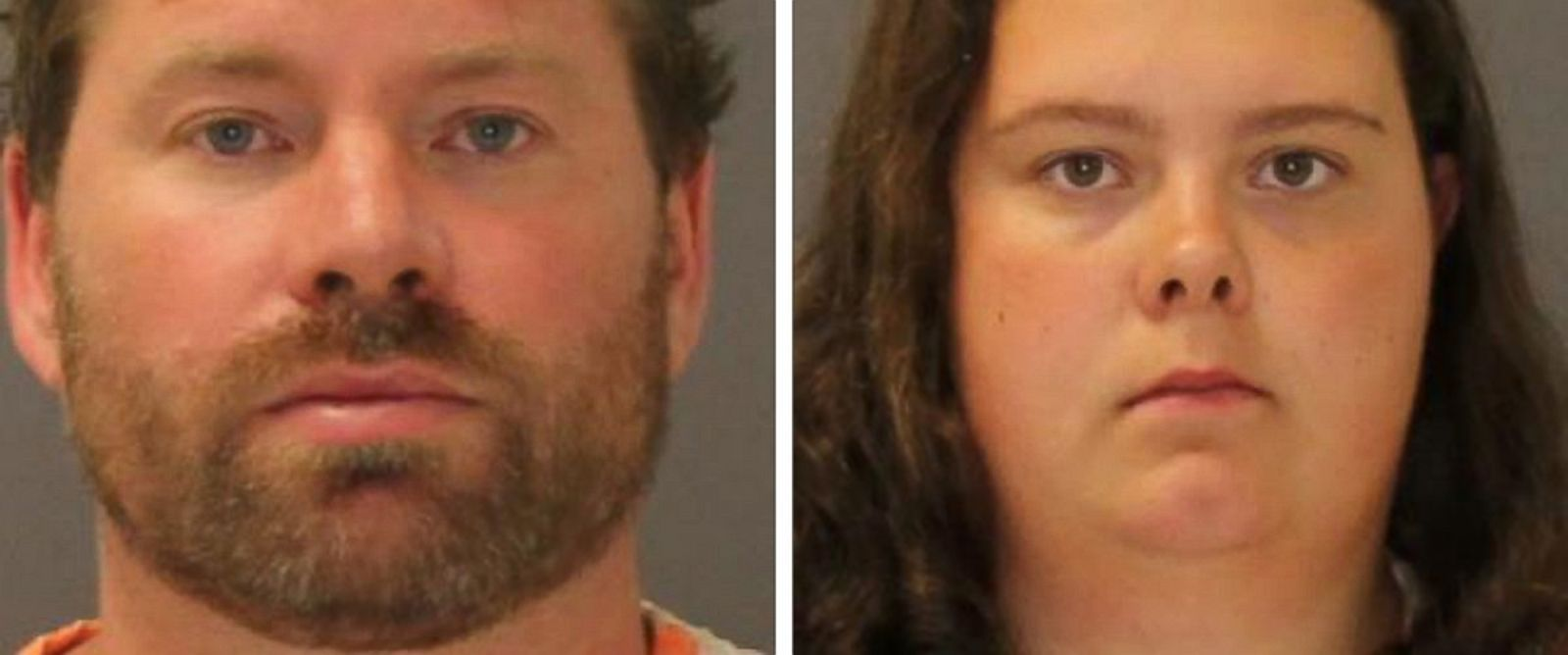 PHOTO: These images show the booking photo of Stephan Howells II, left, and Nicole Vaisey, who was arraigned Aug. 15, 2014 on charges they intended to physically harm or sexually abuse two Amish sisters after abducting them from a roadside farm stand.