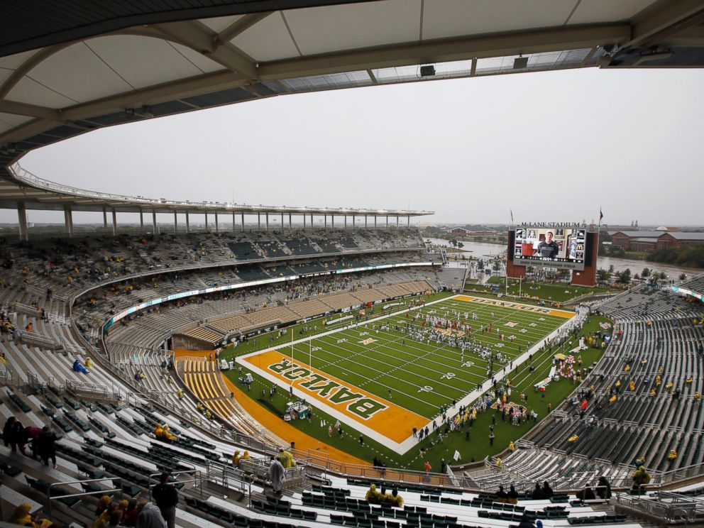 PHOTO: McLane Stadium is seen in Waco, Texas in this Oct. 24, 2015 file photo.