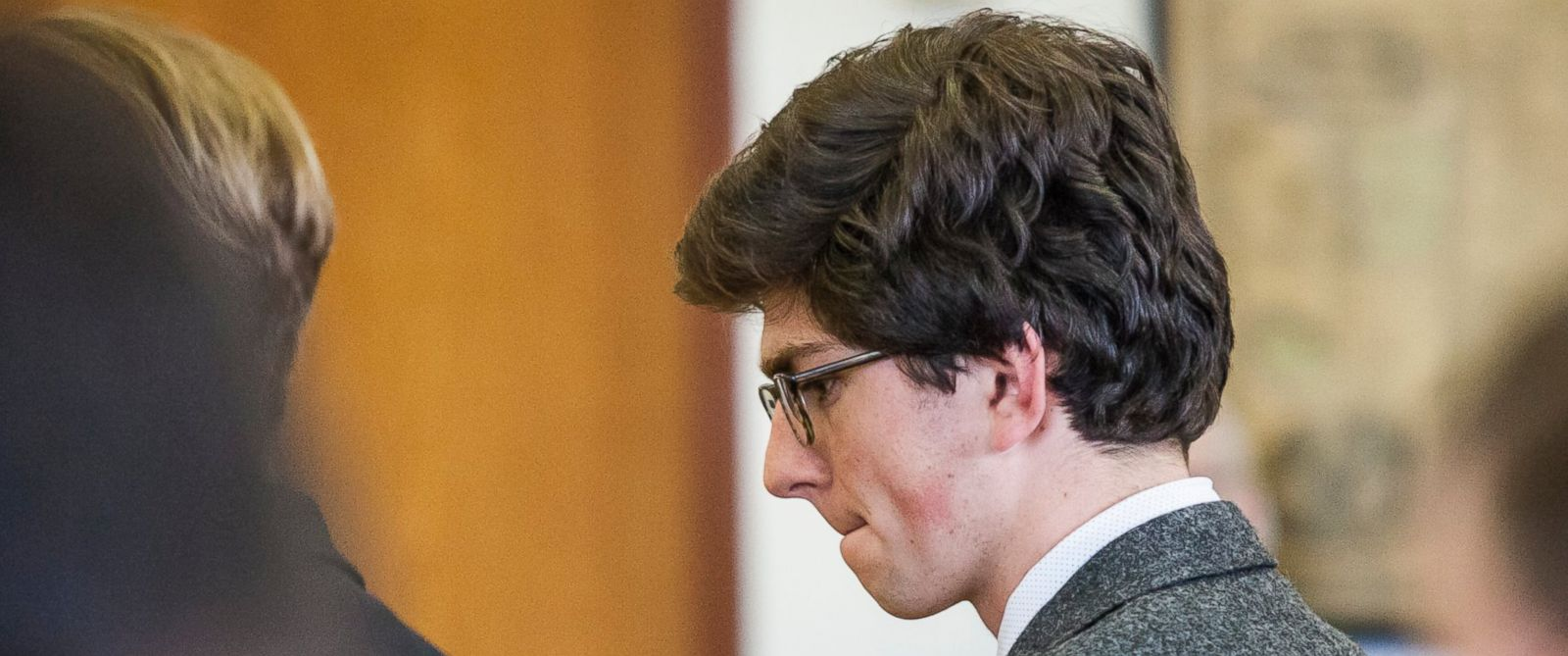 PHOTO: Owen Labrie appears in Merrimack County Superior Court in Concord, N.H., on March 18, 2016. The judge in the trial revoked his bail and said Labrie would begin his one-year jail sentence immediately.