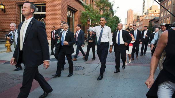 AP OBAMA2 140708 dg 16x9 608 Obama The Bear Lets Loose in Denver