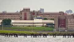 PHOTO: The eastern section of Rikers Island jail complex in the Queens borough of New York, June 11, 2014.