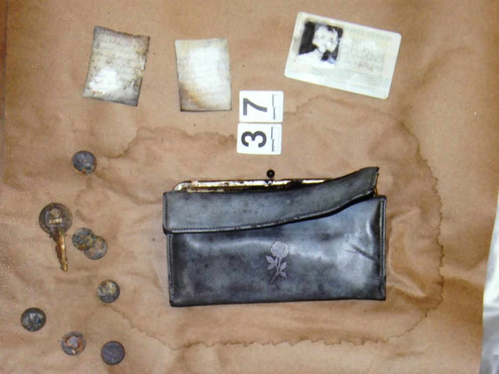 PHOTO: Cheryl Millers drivers license, purse and other belongings were recovered after the car was discovered.
