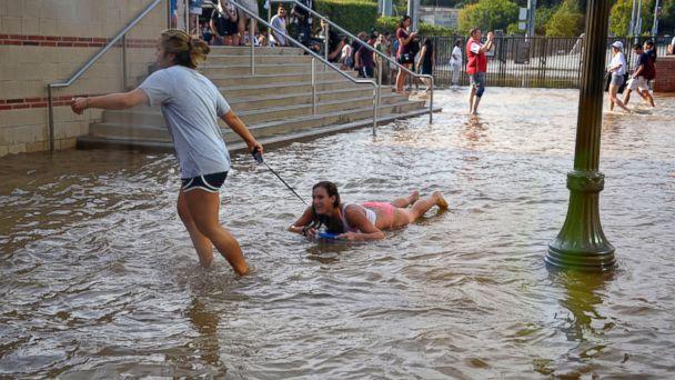 AP UCLA2 140730 DG 16x9 608 Water Main Break Floods UCLAs Basketball Court, Campus Buildings