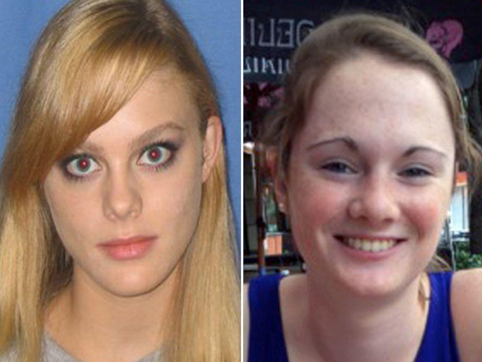 PHOTO: Morgan Harrington, left, and Hannah Graham, right.